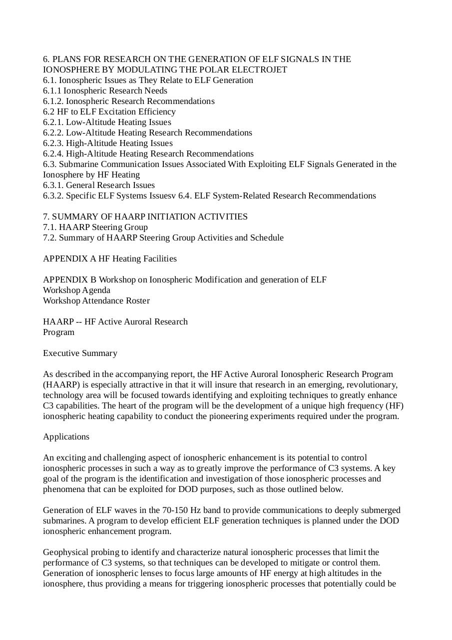 HAARP Congressional hearing on upgrade - expansion Poker flat rocket range.pdf - page 2/13