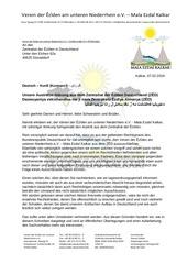 austrittserklrung deutsch kurdisch arabische schrift