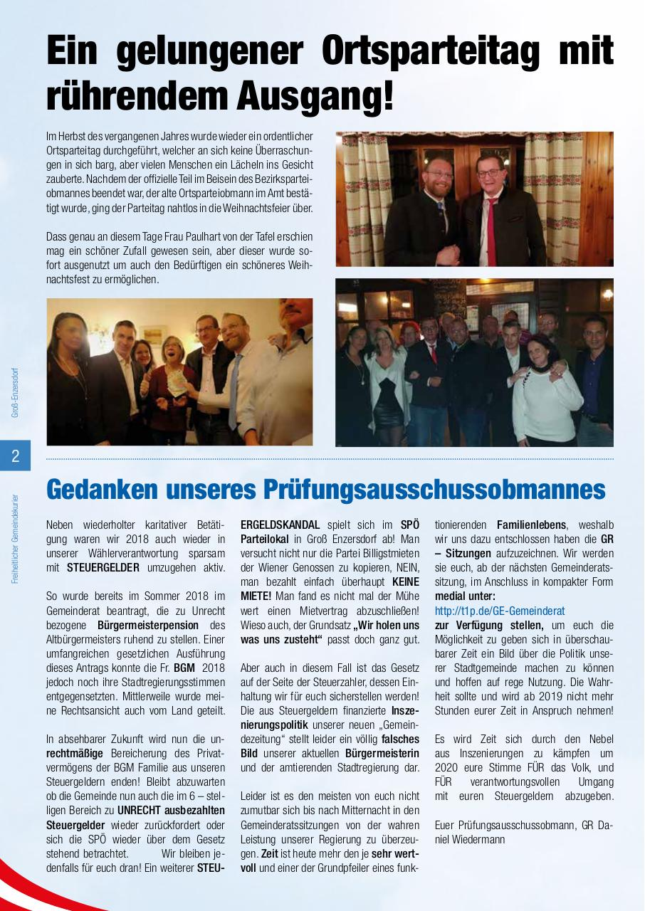 Document preview 2019-02 FGK Groß Enzersdorf Webversion.pdf - page 2/4