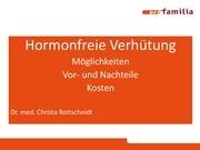 hormonfreie verhutung