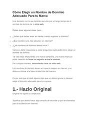 PDF Document como elegir un nombre de dominio adecuado para tu marca