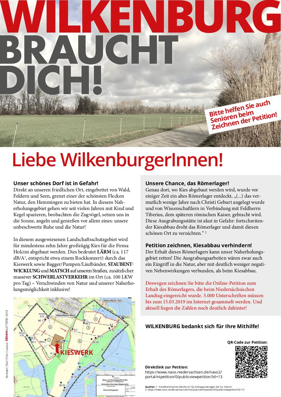 Document preview Infoblatt_Petition Roemerlager Wilkenburg.pdf - page 1/1