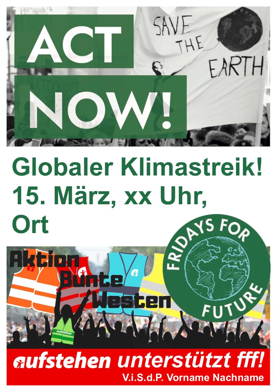 Document preview Aufstehen Fridays For Future DIN A4 150 dpi v1.pdf - page 1/1