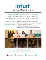 virtual meetandgreet poster with link