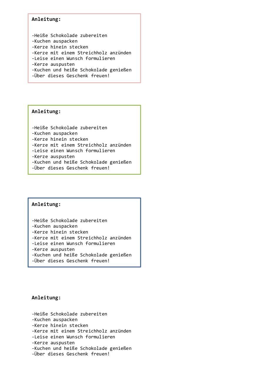 Geburtstagskuchenbausatz by MarkusMandy   PDF Archive