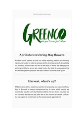 greenco burundi newsletter april 2019