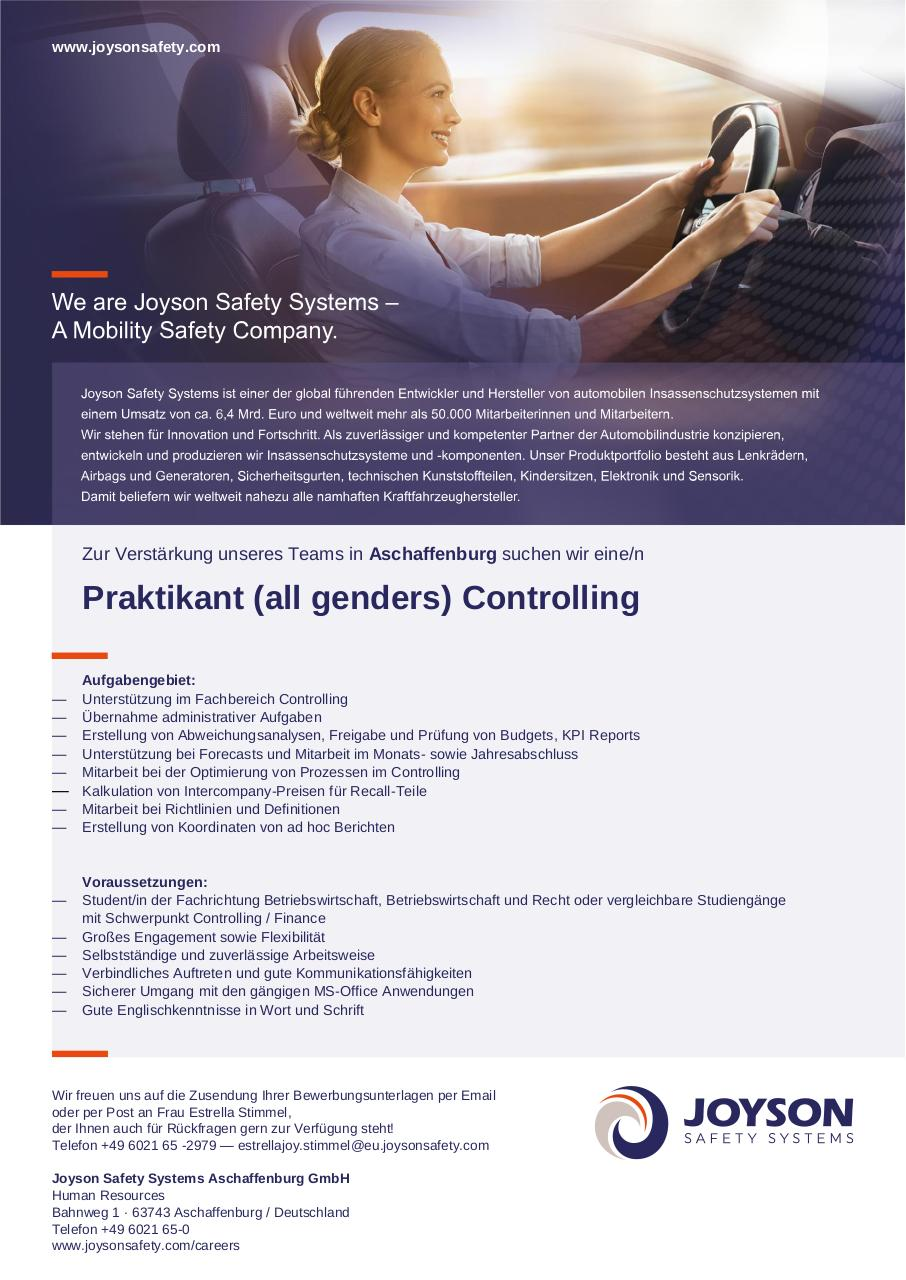 Document preview Praktikant Controlling.pdf - page 1/1