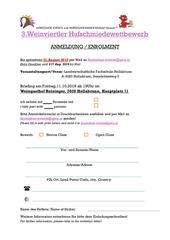 anmeldung registration