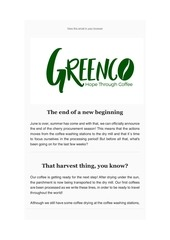 greenco burundi newsletter june 2019