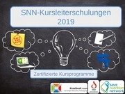 PDF Document snn kursleiterschulungen  termine 2019