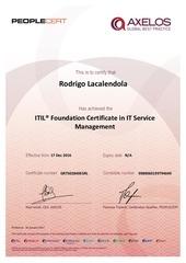 certificado itil v3   rodrigo lacalendola
