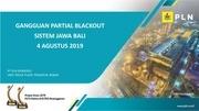 presentasi laporan ggn sjb 20190804 direksi