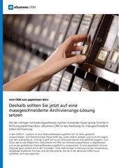 archivierungflyermm