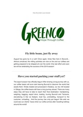 greenco burundi newsletter august 2019