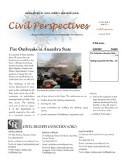 crc newsletter on fire