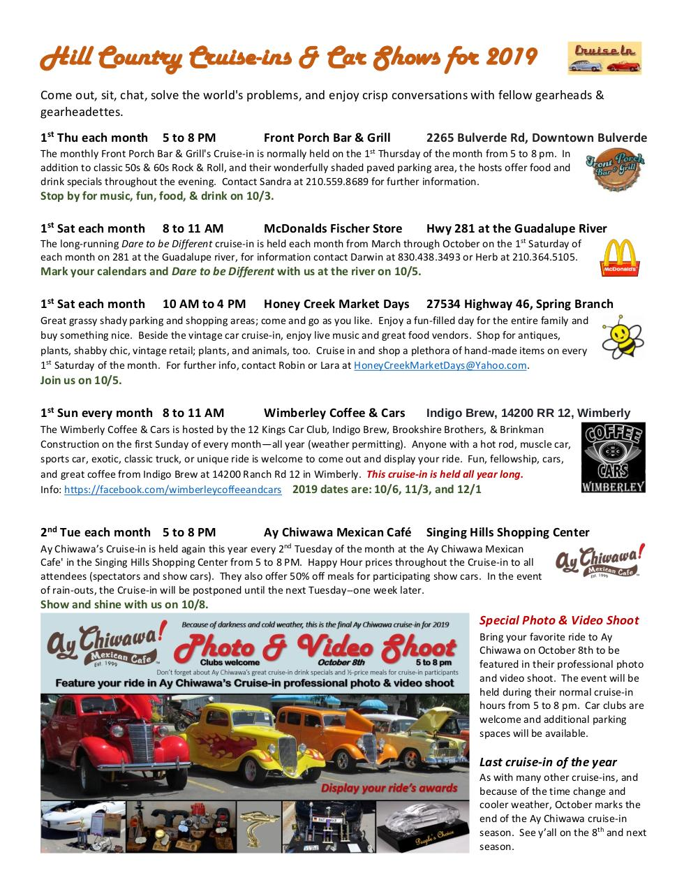 2019 10 Cruise-in flyer.pdf - page 1/4