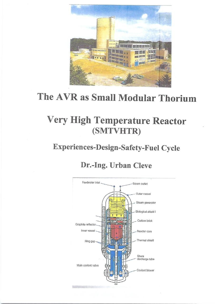 The AVR as Small Modular Thorium Very High Temperature Reactor.pdf - page 1/6