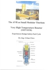 the avr as small modular thorium very high temperature reactor
