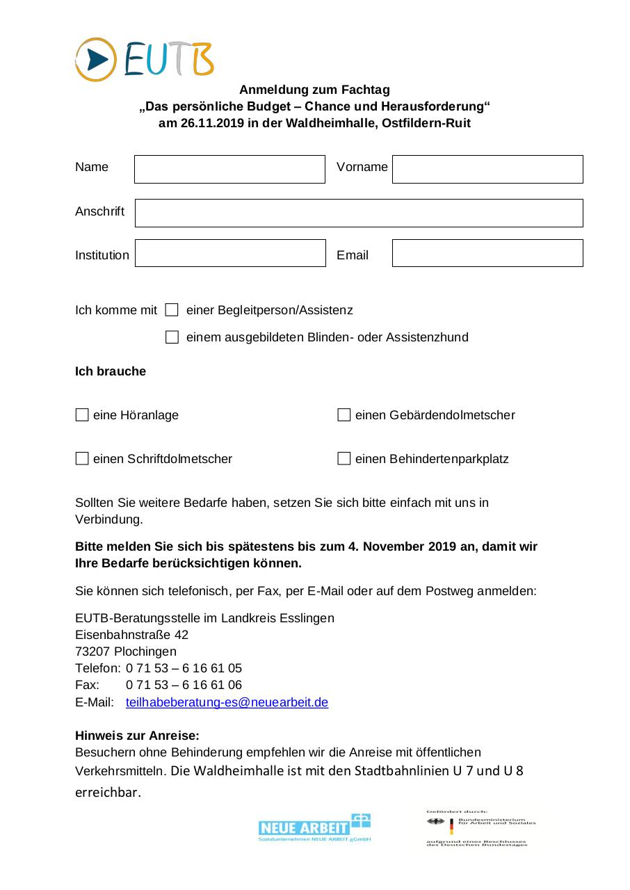 Document preview Anmeldeformular - Alltagssprache.pdf - page 1/1