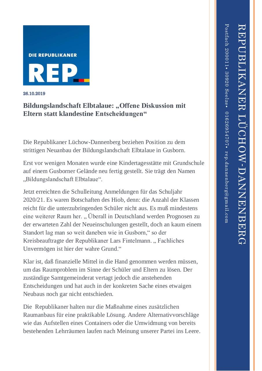 Document preview PM_Bildungslandschaft_DAN_Netz.pdf - page 1/2