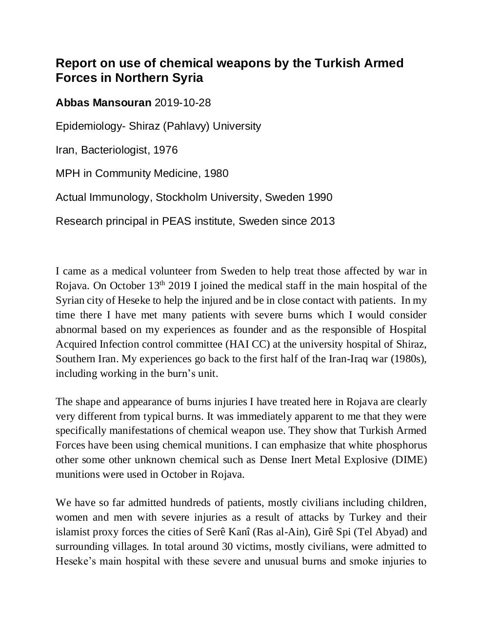 report on chemical weapon use_Dr Abbas.pdf - page 1/15