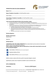 lgema membership form