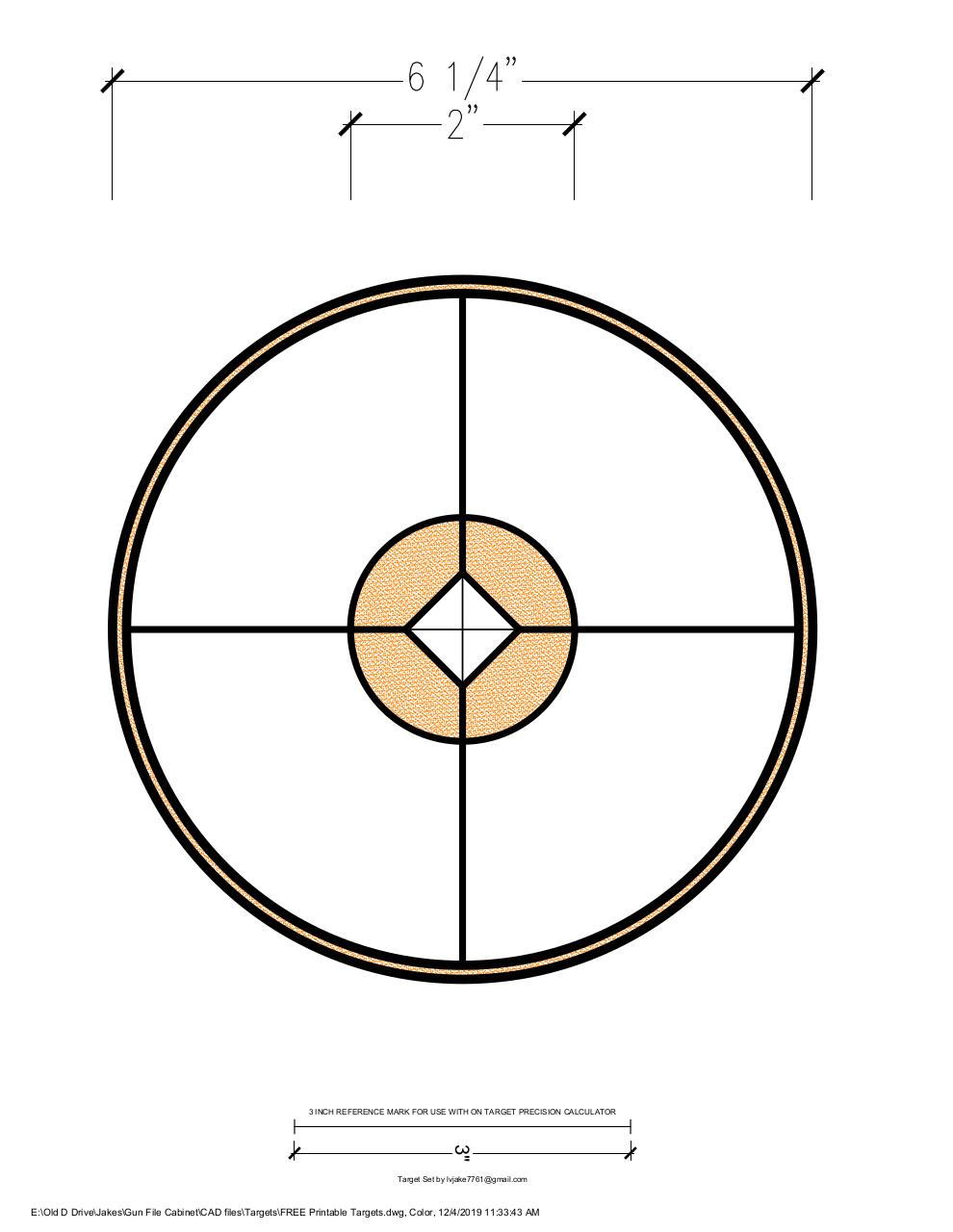 Document preview FREE Printable Targets-Color.pdf - page 1/1