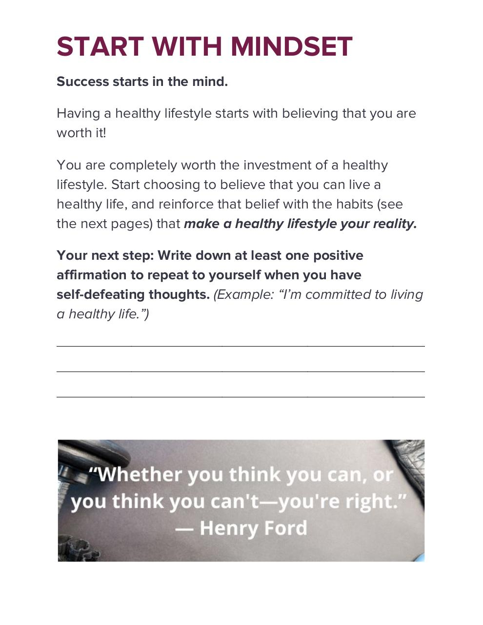 10 STEPS TO A HEALTHIER LIFE.pdf - page 3/12