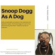 snoop dogg as a dog