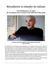 leducation comme premiere priorite    fari en francais