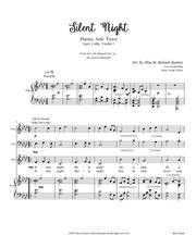 silent night voice piano cello violin arr by alisa ramirez 2019