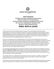 rebel with a cause press release