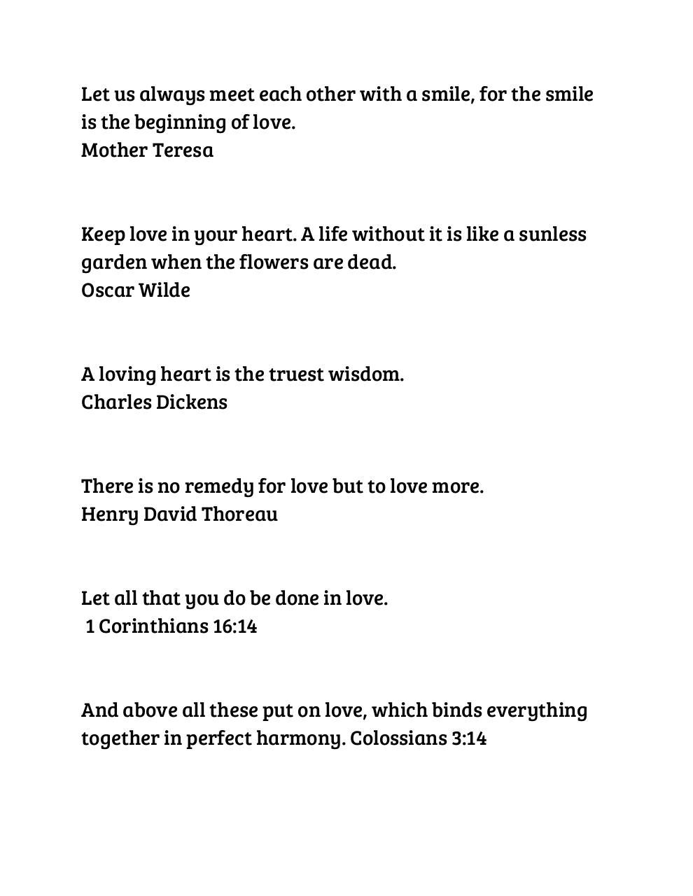 Document preview Love Quotes.pdf - page 1/4