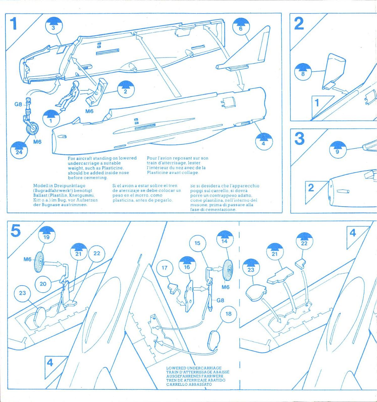 Airfix 72 English Electric Lightning F.1A (9 02068).pdf - page 2/5
