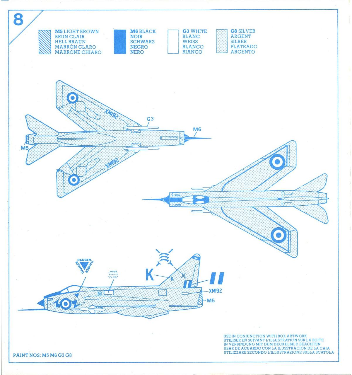 Airfix 72 English Electric Lightning F.1A (9 02068).pdf - page 4/5