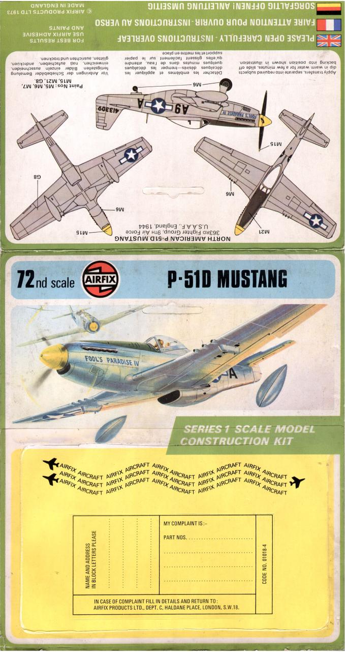 Airfix 72 North American P-51D Mustang (01018-4).pdf - page 2/2