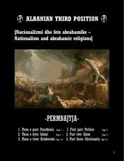 nacionalizmi dhe fete abrahamike  shqip english