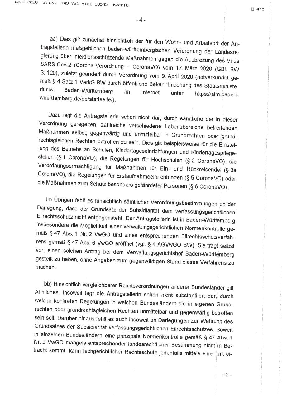 Document preview Beschluss.pdf - page 4/5
