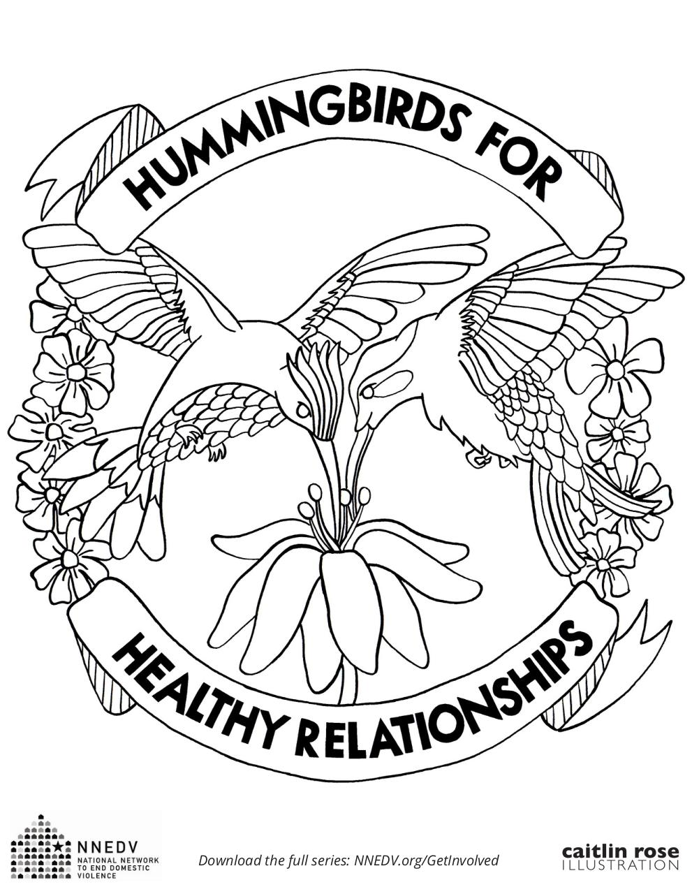 Document preview Library_Get_Involved_Coloring-Pages_Hummingbirds-for-Healthy-Relationships.pdf - page 1/1