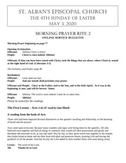 easter 4th sunday may 3 2020