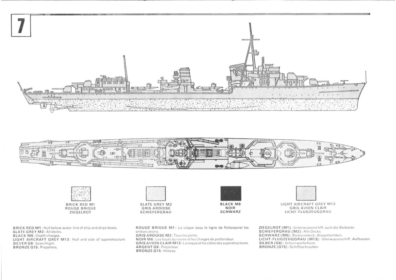 Airfix 600 Narvik Class German Destroyer (02205-9).pdf - page 4/5