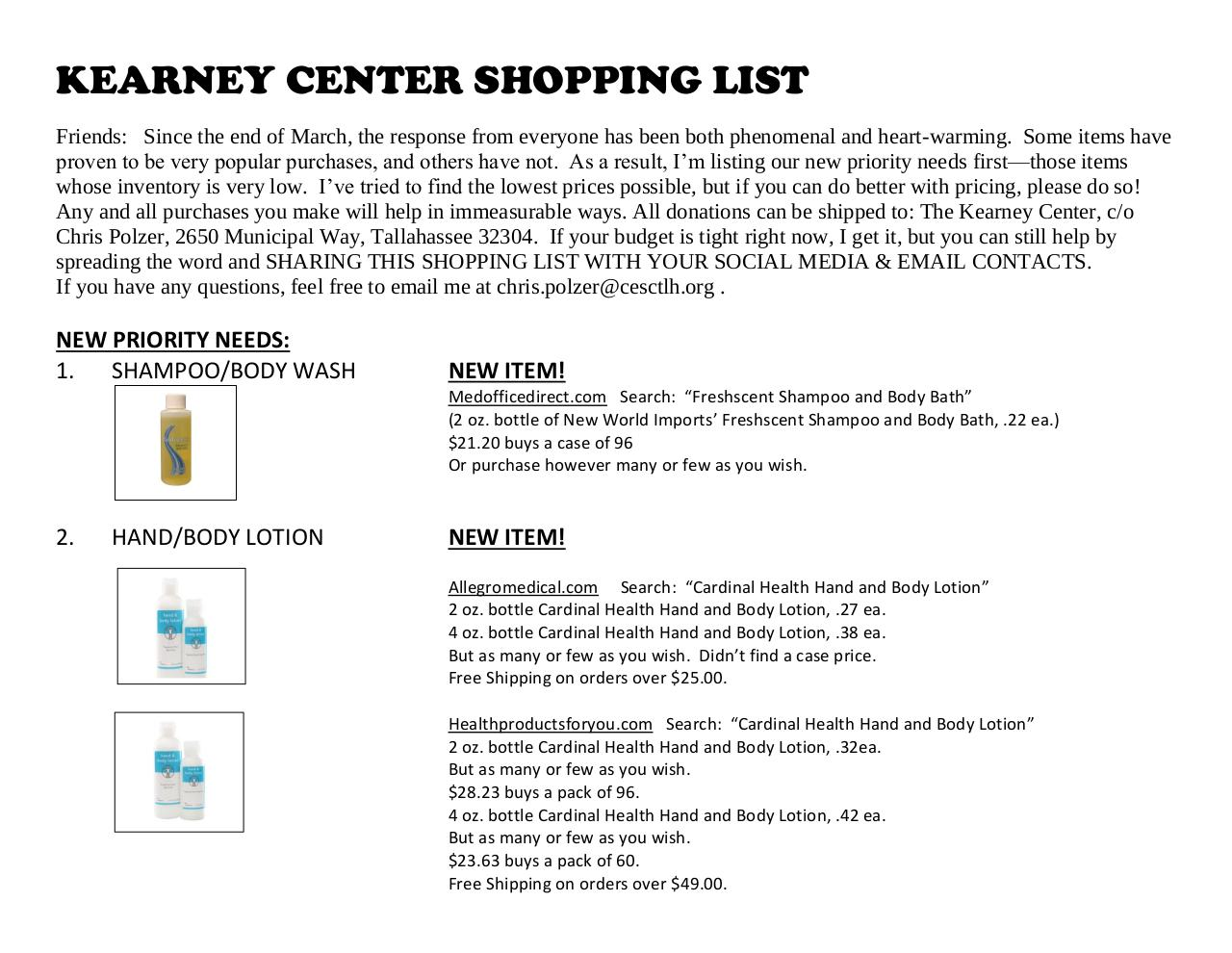 UPDATED SHOPPING LIST 2.pdf - page 1/6