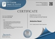 pythoncertificate