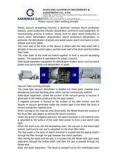 rotary vacuum dryer working principle