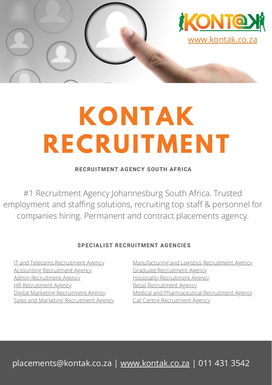 Kontak Recruitment Agency South Africa.pdf - page 1/3