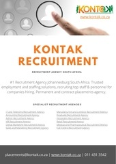 kontak recruitment agency south africa