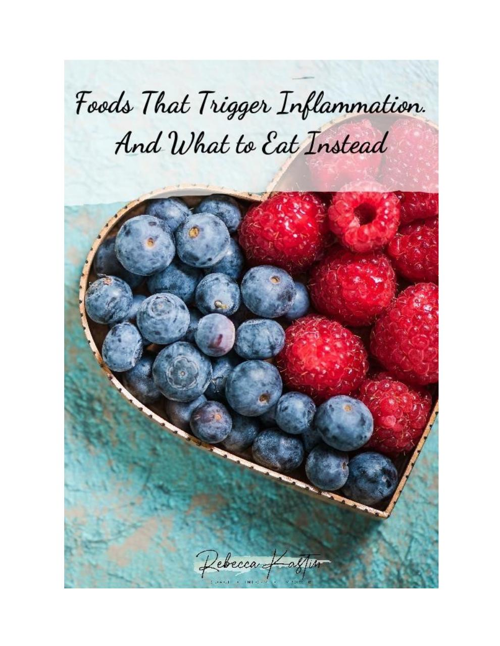 Foods That Trigger Inflamation and What To Eat Instead.pdf - page 1/6