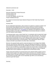 roth eis joint letter of support