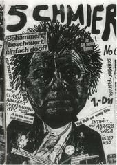 schmier nr 06 dusseldorf 1980 fanzine