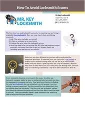 mr key locksmith orem